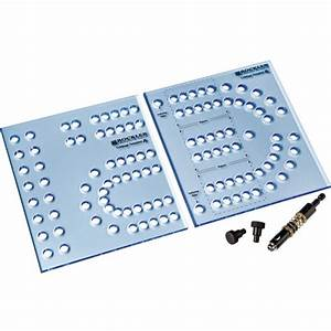 Rockler xl cribbage board templates 1 43939 hole rockler for Cribbage board drilling templates