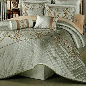 amazon com 7 pc elegant exquisite comforter set w heavy