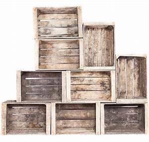 L Art De La Caisse : l 39 art de la caisse caisse en bois aspect rustique ~ Carolinahurricanesstore.com Idées de Décoration