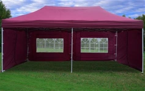 maroon    pop  canopy party tent