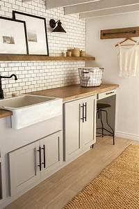 Carreau Metro Blanc : le carrelage m tro blanc fait fureur dans la cuisine ~ Preciouscoupons.com Idées de Décoration