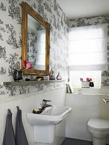 Badezimmer Verschönern Dekoration : mit toile de jouy das zuhause versch nern une belle maison zuhause badezimmer und bad ~ Eleganceandgraceweddings.com Haus und Dekorationen