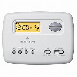 Emerson Non Programmable Thermostat Wiring Diagram