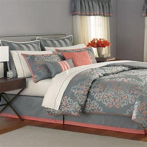 10766 24 bed in a bag martha stewart grand damask 24 comforter bed