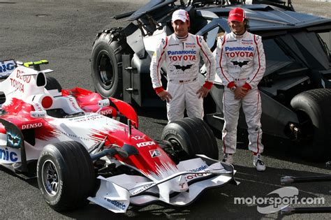 British Open Standings by Timo Glock Toyota F1 Team And Jarno Trulli Toyota Racing