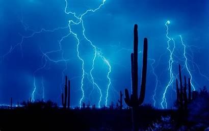 Lightning Wallpapers Desktop Nature Backgrounds Background Pc