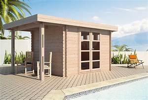 Chalet Bois Toit Plat : chalet bois kit toit plat ~ Melissatoandfro.com Idées de Décoration