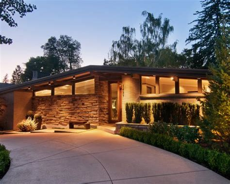 Mid Century Modern Exterior Home Design Ideas, Pictures