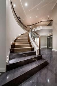 Wandeinbauleuchten Für Treppen : die 25 besten ideen zu halbgewendelte treppe auf ~ Watch28wear.com Haus und Dekorationen