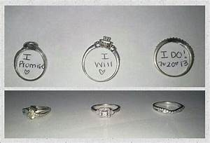 Lovely promise ring engagement ring and wedding ring set for Promise engagement wedding ring set