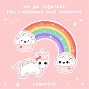 Cute Unicorn Rainbow Cupcakes