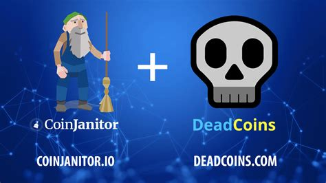 Join bitcoin now, do not delay. CoinJanitor and Deadcoins.Com Join Forces to Clean up Crypto - Bitcoin Network, News, Charts ...