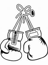 Boxing Coloring Boys Printable sketch template