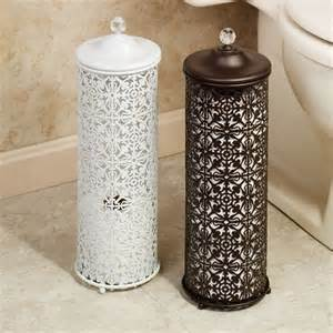 decorative kitchen canisters lace design toilet tissue holder