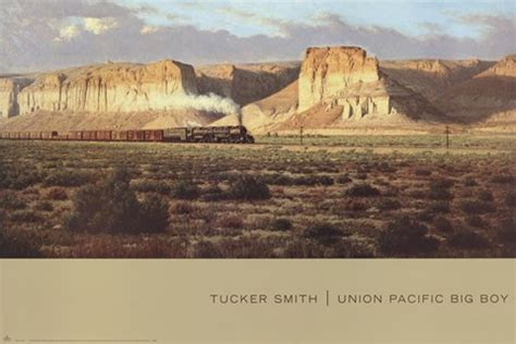 union pacific big boy fine art print  tucker smith