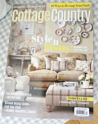 country cottage magazine Junk Chic Cottage: RH Cottage Country Magazine, Road Side ...