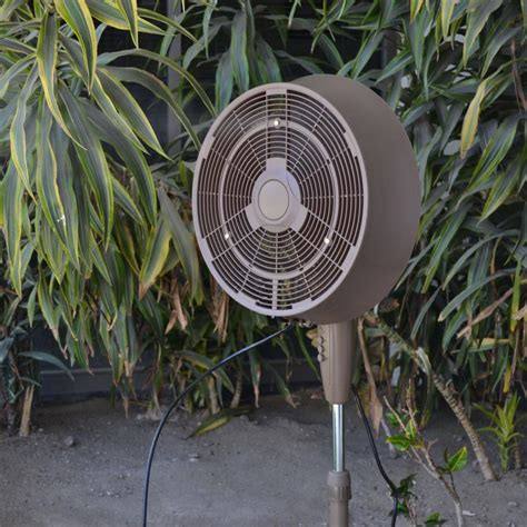 newair af 520b oscillating outdoor misting