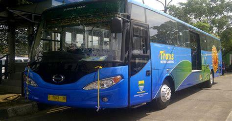 rute lengkap trans metro bandung bus sekolah koridor