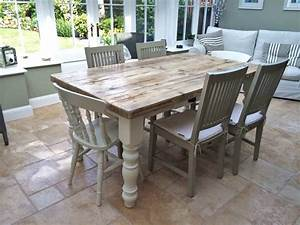 The Simple Farmhouse Dining Table