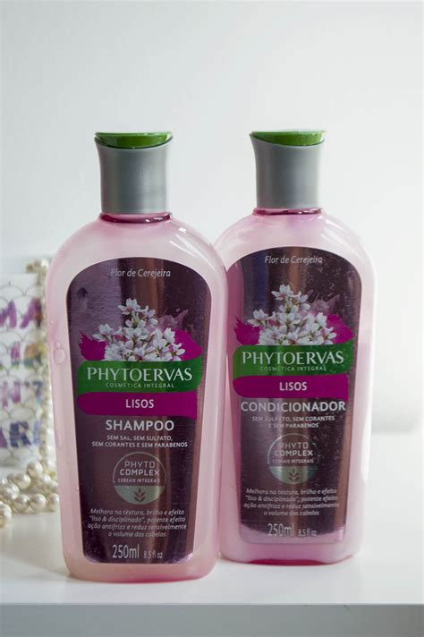 shoo phytoervas para cabelo liso e condicionador