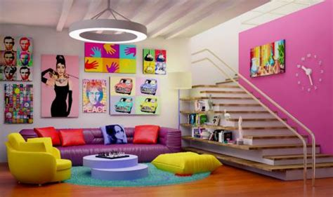 blog combinaisons de couleurs pop art tons vifs et