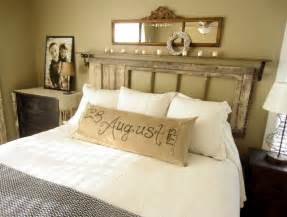 to earth style vintage rustic master bedroom