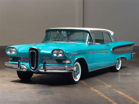 1958 Edsel Citation 2-door Hardtop 63B retro g wallpaper ...