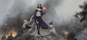 Art of Liliana: Healer to Necromancer | MAGIC: THE GATHERING
