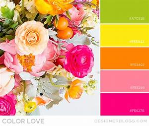 Color Love | Bright Green, Yellow, Orange & Pink ...