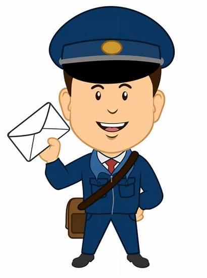 Mailman Clipart Sent Transparent Postman Webstockreview 88kb