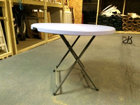 3 foot round table secondhand chairs and tables round tables with folding
