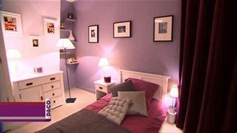 chambre grise et prune deco chambre prune et gris visuel 7