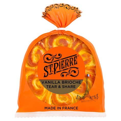 St. Pierre Vanilla Brioche Tear & Share 500g   BB Foodservice