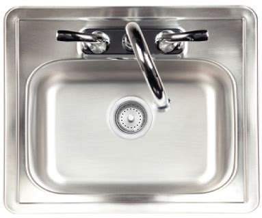 Sink & Faucet: Stainless Steel: Large Europe   Pizza Oven