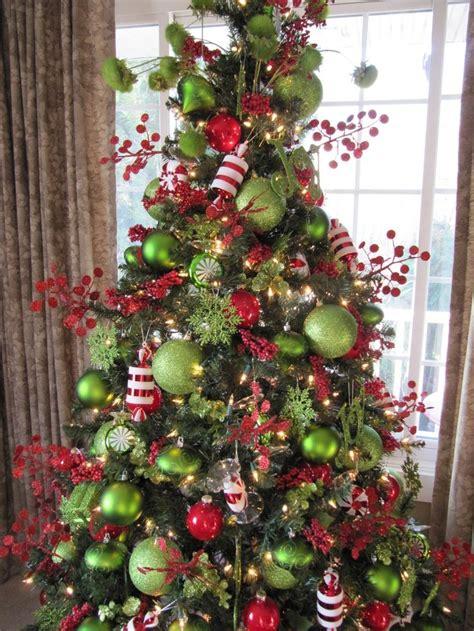 ideas  red christmas trees  pinterest