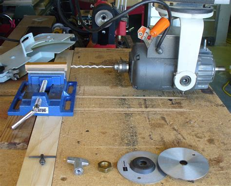 drilling  blanks   radial arm  ras router