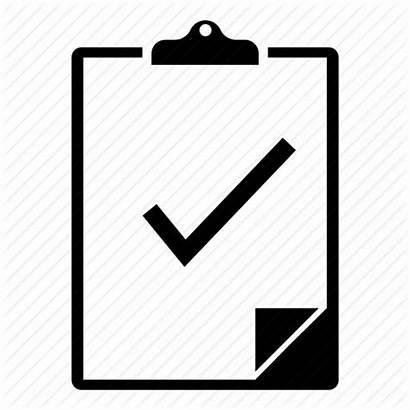 Clipboard Clipart Checklist Icon Clip Transparent Check