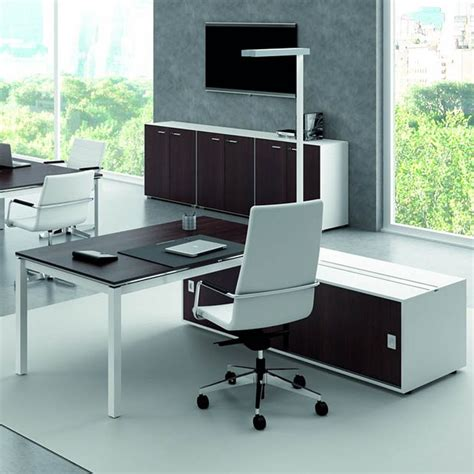 mobilier bureau contemporain office x4 03 office desk with sided operational