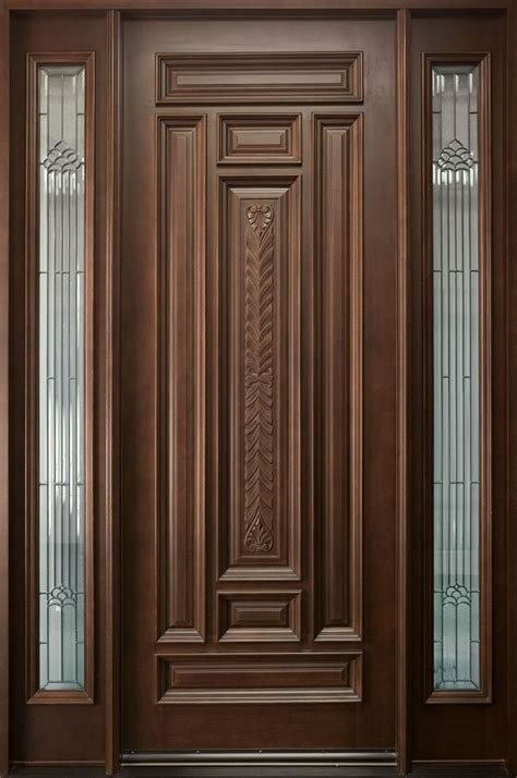 solid wood door design images  pinterest panel