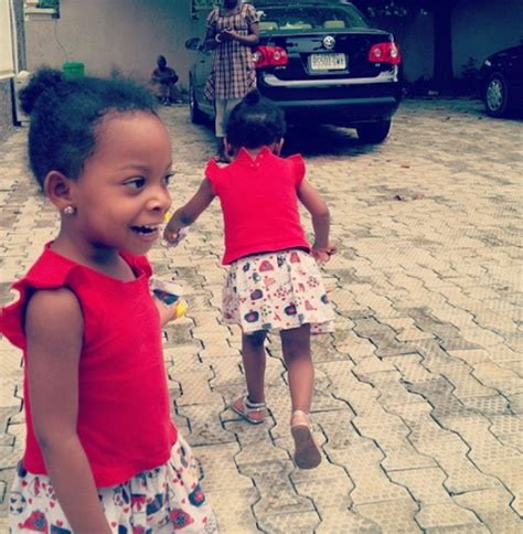 Photos Singer 9ice Shows Off His Twin Girls