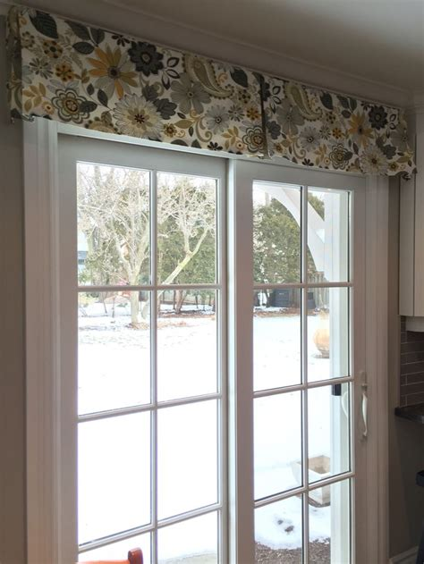 arched window treatments patterns patio door window treatment a simple decorative box