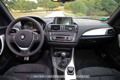 siege sport bmw serie 1 essai bmw série 1 m sport 3 portes 118d actu automobile