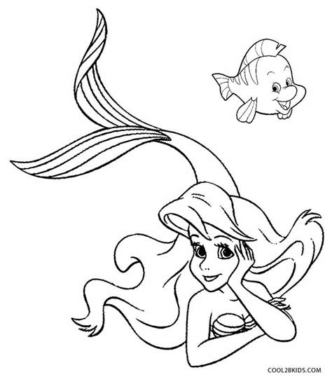 Coloring Mermaid by Printable Mermaid Coloring Pages For Cool2bkids