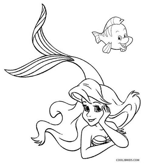 printable mermaid coloring pages  kids coolbkids