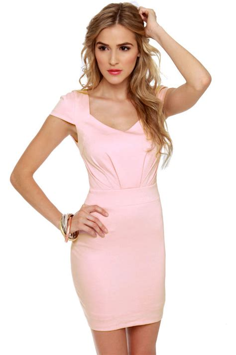 light pink dress with sleeves lovely light pink dress sleeve dress 45 00