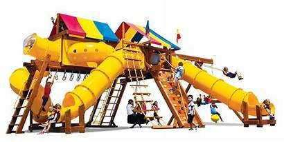 Tube Slide Straight King Kong Playground Castle