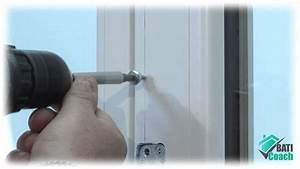 tutoriel baticoach pose d39un kit de poignee centree sur With porte fenetre pvc vial