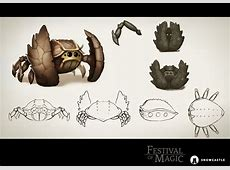 Creature Design Diary Crabler Enemy part 2 news