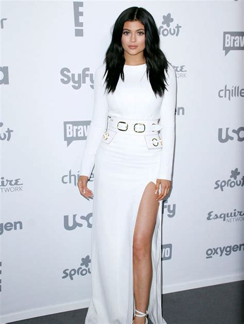 Kylie Jenner at the 2015 NBCUniversal event on Stylevore
