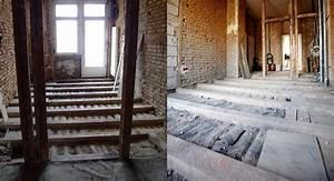 Trockenestrich Auf Holzbalkendecke : fu boden sanieren im altbau planungswelten ~ Orissabook.com Haus und Dekorationen